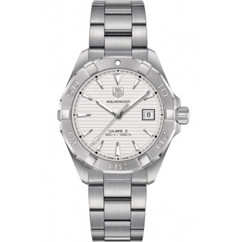 Captain Replica Watch - TAG Heuer Aquaracer Calibre 5 300M Silver Dial WAY2111.BA0910