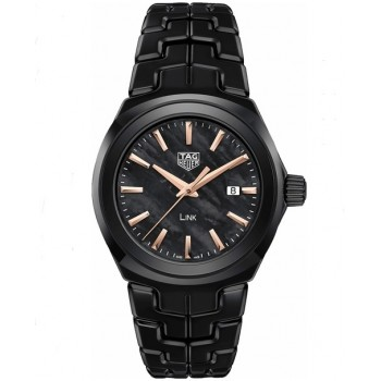 Captain Replica Watch - TAG Heuer Link 32mm Black Ceramic For Women WBC1392.BH0744