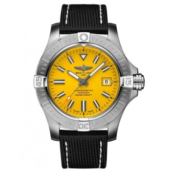 Captain Replica Watch - Breitling Avenger Seawolf 45mm Yellow A17319101I1X2