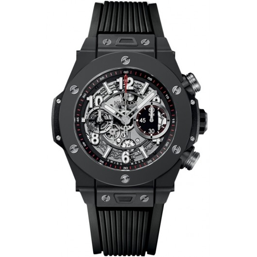 Replica Hublot Big Bang Unico All Black 45MM 411.CI.1170.RX