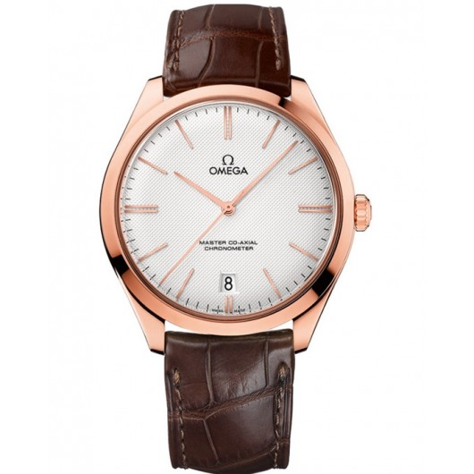 Captain Replica Watch - Replica Omega De Ville Tresor 40mm Rose Gold 432.53.40.21.02.002