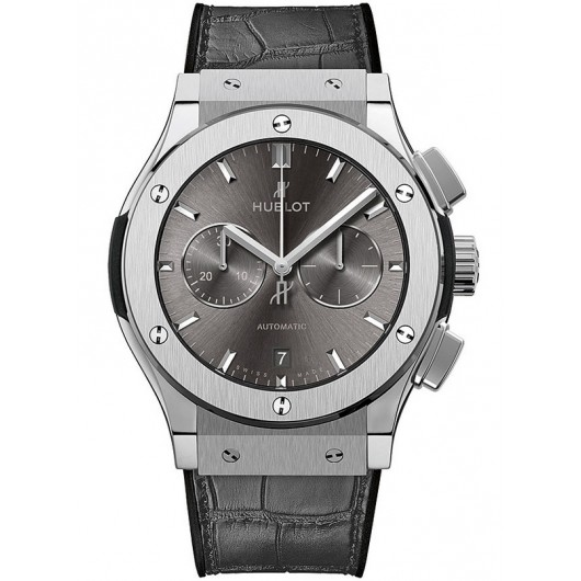 Captain Replica Watch - Hublot Classic Fusion Chronograph 45mm Grey 521.NX.7070.LR