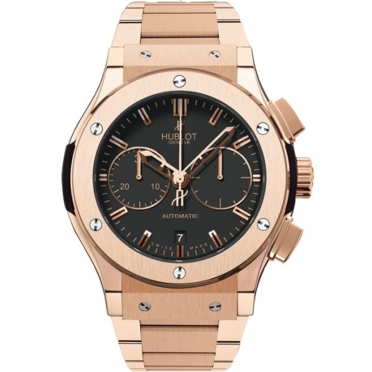 Captain Replica Watch - Hublot Classic Fusion Chronograph Rose Gold 521.OX.1180.OX