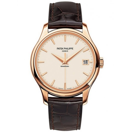 Captain Replica Watch - Patek Philippe Calatrava Rose Gold 39mm 5227R-001