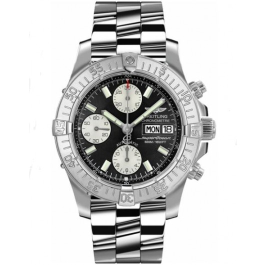 Captain Replica Watch - Breitling Superocean Chronograph Steel Day & Date A1334011/B683