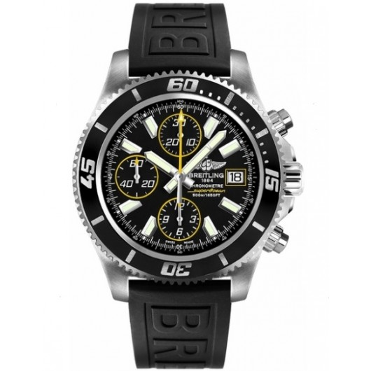 Captain Replica Watch - Breitling Superocean Chronograph II Black Yellow A1334102/BA82