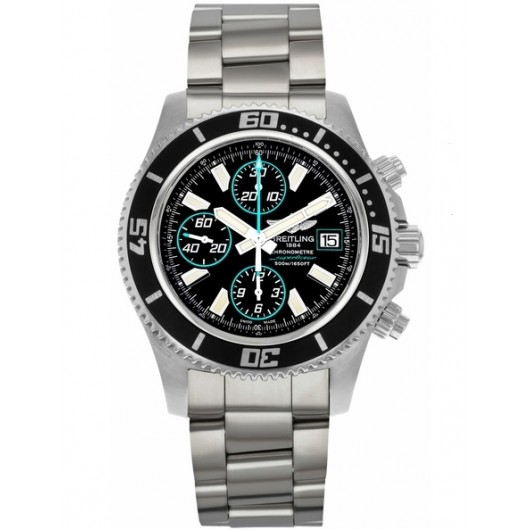 Captain Replica Watch - Breitling Superocean Chronograph II Black Blue A1334102/BA83