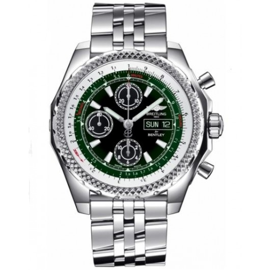 Captain Replica Watch - Breitling Bentley GT II Green Dial A1336512/L520