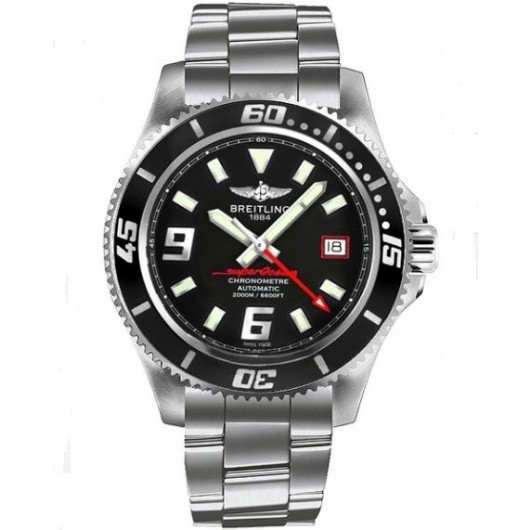 Captain Replica Watch - Breitling Superocean 44 Steel Black A1739102/BA76-162A