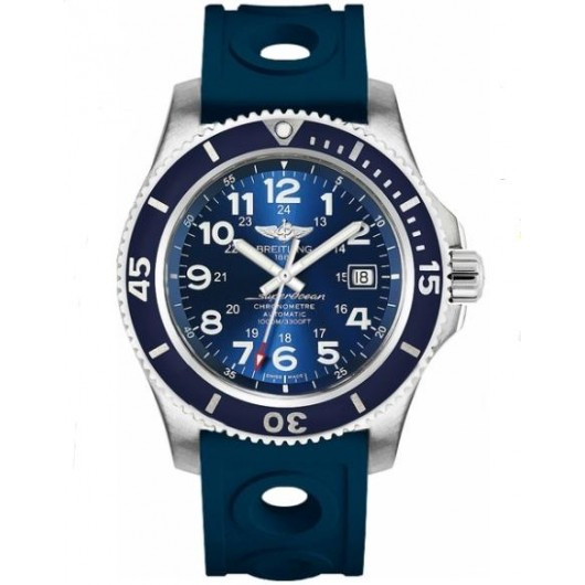 Captain Replica Watch - Breitling Superocean II 44 Gun Blue Dial A17392D8/C910