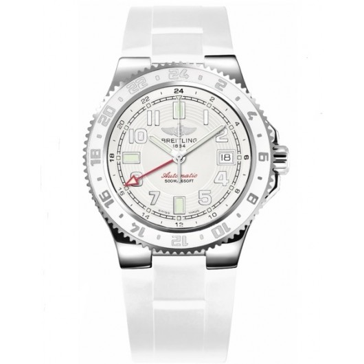 Captain Replica Watch - Breitling Superocean GMT White Dial A32380A9/A737-146S