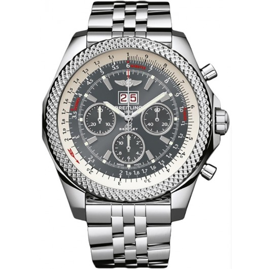 Captain Replica Watch - Breitling Bentley 6.75 Grey Dial A4436412/F544