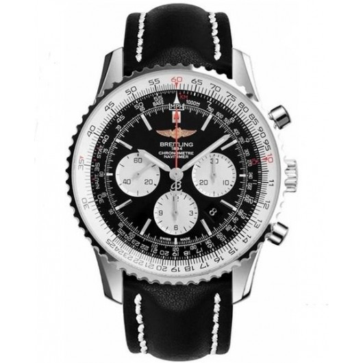 Captain Replica Watch - Breitling Navitimer 01 Chronograph 46mm Black Dial AB012721/BD09/441X
