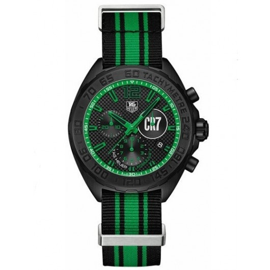 Captain Replica Watch - TAG Heuer Formula 1 Cristiano Ronaldo Edition Chronograph CAZ1113.FC8189