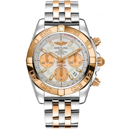 Captain Replica Watch - Breitling Chronomat 41 Steel Rose Gold CB014012/G713/378C