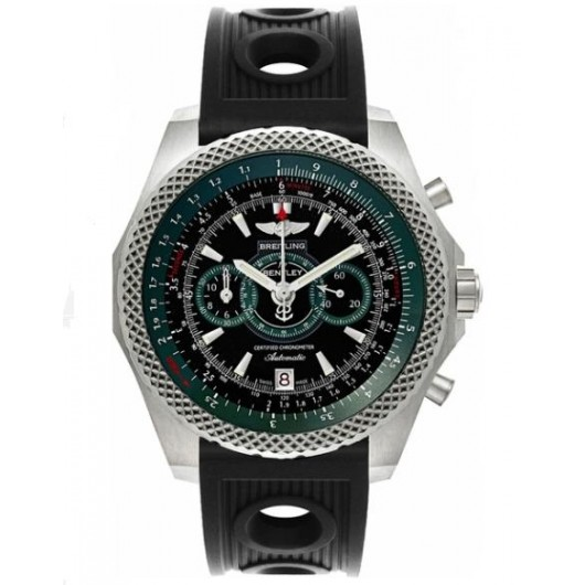 Captain Replica Watch - Breitling Bentley Supersports Black Dial Green E2736536/BB37