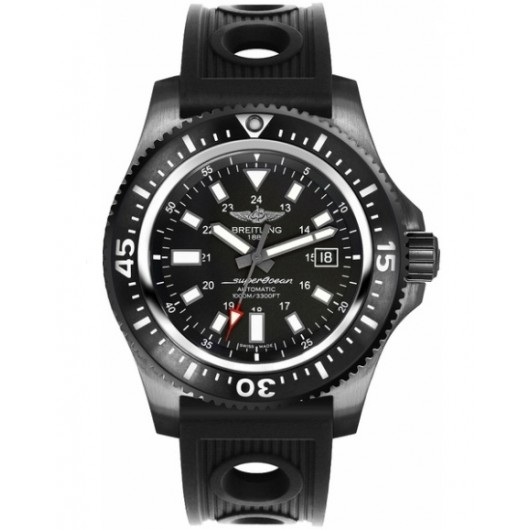 Captain Replica Watch - Breitling Superocean 44 Special Black Steel M1739313/BE92