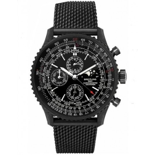 Captain Replica Watch - Breitling Navitimer 1461 Black Steel Limited Edition M1938022/BD20/159M