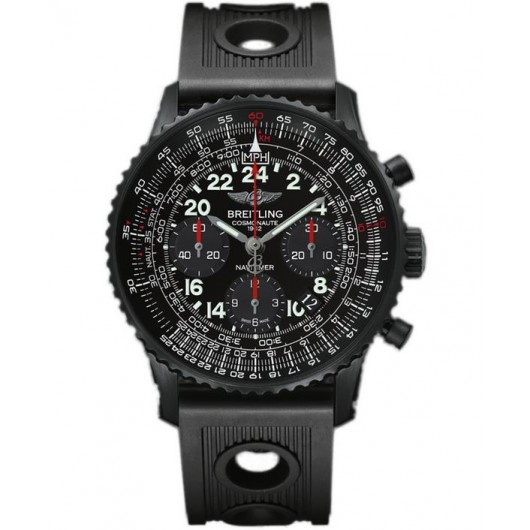 Captain Replica Watch - Breitling Navitimer Cosmonaute Blacksteel Chronograph MB0210B6/BC79/200S/M20DSA.2