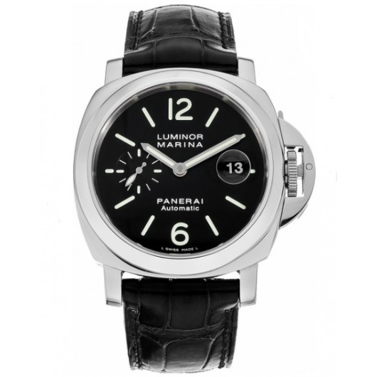 Captain Replica Watch - Panerai Luminor Marina 44mm Black Dial PAM00104