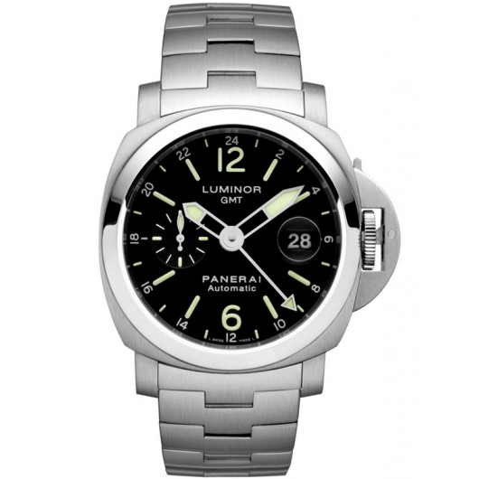 Captain Replica Watch - Panerai Luminor GMT Steel 44mm PAM00297