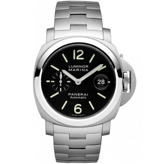 Captain Replica Watch - Panerai Luminor Marina Steel Black Dial PAM00299