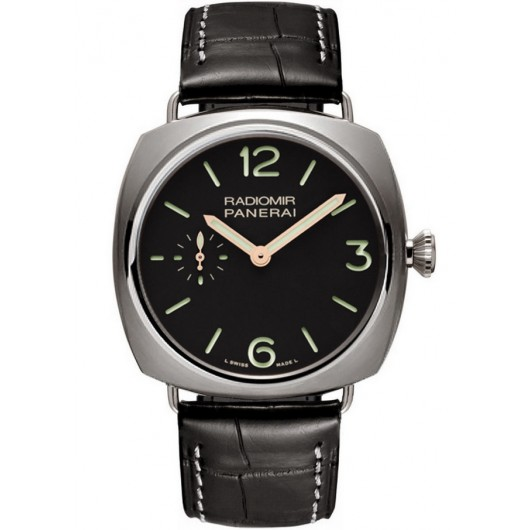 Captain Replica Watch - Panerai Radiomir Titanium Black Dial 42mm PAM00338