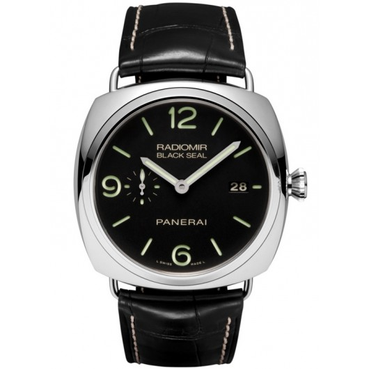 Captain Replica Watch - Panerai Radiomir Black Seal 3 Days Acciaio 45mm PAM00388