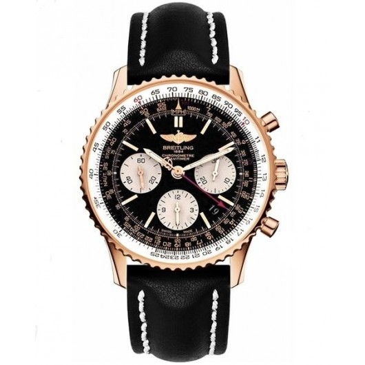 Captain Replica Watch - Breitling Navitimer 01 Chronograph 43mm Rose Gold RB012012/BA49/435X