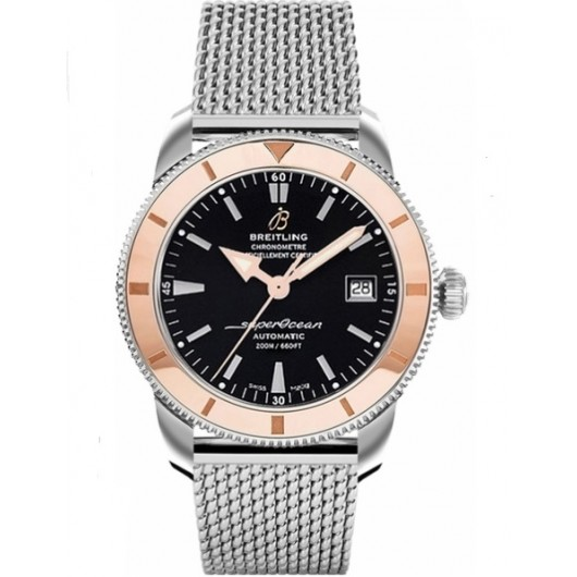 Captain Replica Watch - Breitling Superocean Heritage 42 Steel Rose Gold Bezel U1732112/BA61