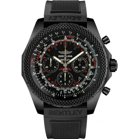 Captain Replica Watch - Breitling Bentley Light Body Midnight Carbon V2536722/BC45