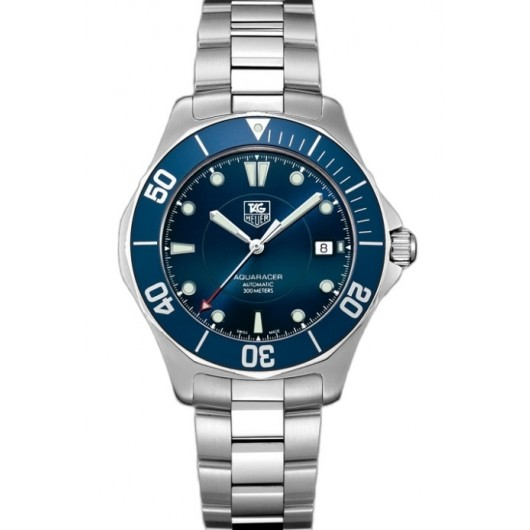 Captain Replica Watch - TAG Heuer Aquaracer 300M Blue Dial WAB2011.BA0803