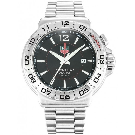 Captain Replica Watch - TAG Heuer Formula 1 Alarm 200M Steel Quartz WAC111A.BA0850