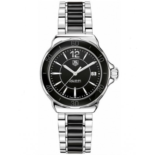 Captain Replica Watch - TAG Heuer Formula 1 Steel with Black Ceramic Quartz WAH1210.BA0859