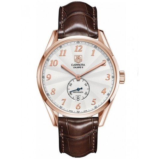 Captain Replica Watch - TAG Heuer Carrera Heritage Calibre 6 Rose Gold WAS2140.FC8176