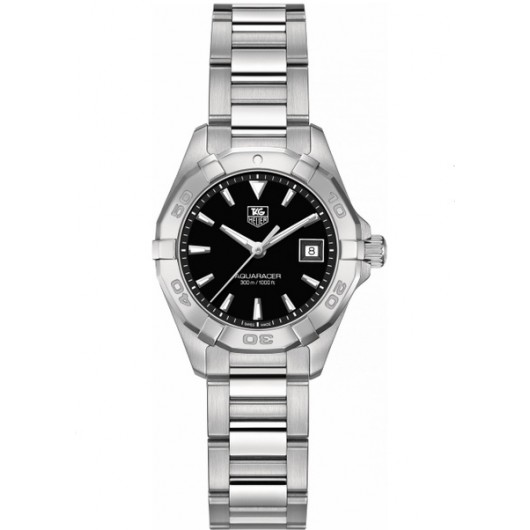 Captain Replica Watch - TAG Heuer Aquaracer 300M 27mm Black Dial WAY1410.BA0920