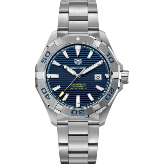 Captain Replica Watch - TAG Heuer Aquaracer 300M 43mm Sunray Blue Dial WAY2012.BA0927