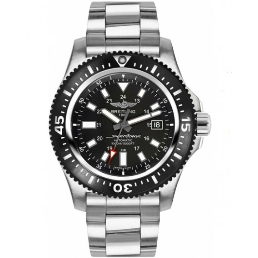 Captain Replica Watch - Breitling Superocean 44 Special Steel Volcano Black Y1739310/BF45