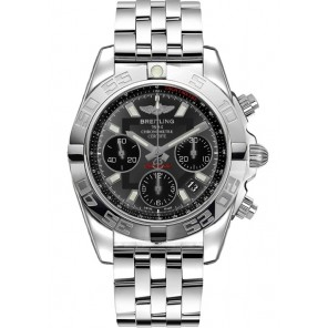 Captain Replica Watch - Breitling Chronomat 41 Steel Grey Dial AB014012/F554/378A