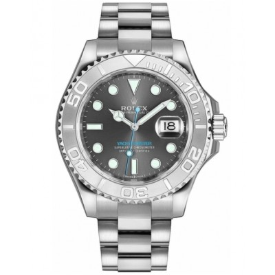 Captain Replica Watch - Rolex Yacht-Master 40 116622 Grey Dial