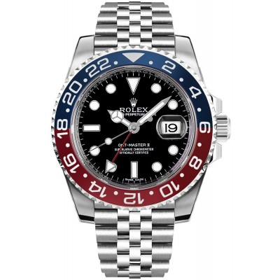 Captain Replica Watch - Replica Rolex GMT-Master II Pepsi 126710BLRO