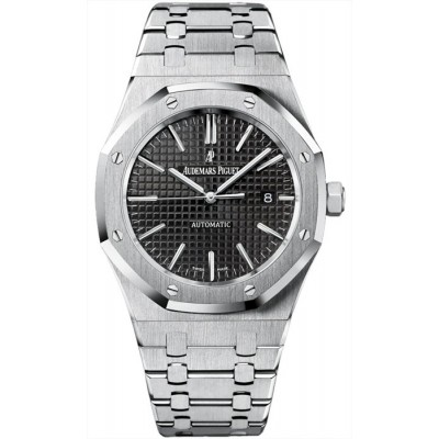 Replica Watch - Audemars Piguet Royal Oak Automatic Black Dial 15400ST.OO.1220ST.01