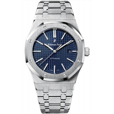 Replica Watch - Audemars Piguet Royal Oak Automatic Blue Dial 15400ST.OO.1220ST.03