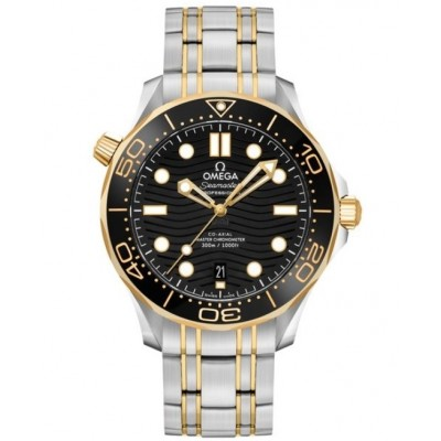 Captain Replica Watch - Omega Seamaster 300M Two Tone 210.20.42.20.01.002