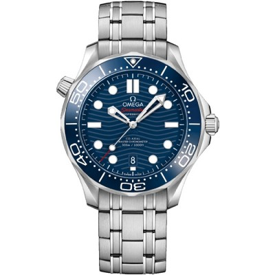 Captain Replica Watch - Omega Seamaster Diver 300M Co-Axial Steel Blue 210.30.42.20.03.001