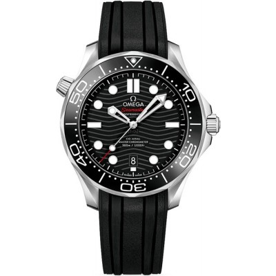 Captain Replica Watch - Omega Seamaster Diver 300m Co-Axial Master Chronometer Black 210.32.42.20.01.001