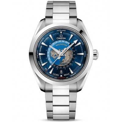 Replica Watch - Omega Seamaster Aqua Terra GMT Worldtimer 220.10.43.22.03.001