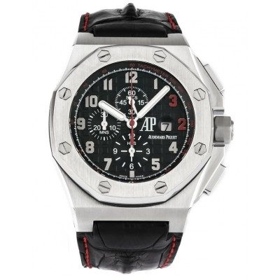 Captain Replica Watch - Audemars Piguet Royal Oak Offshore Chronograph Shaquille O'Neal 26133ST.OO.A101CR.01