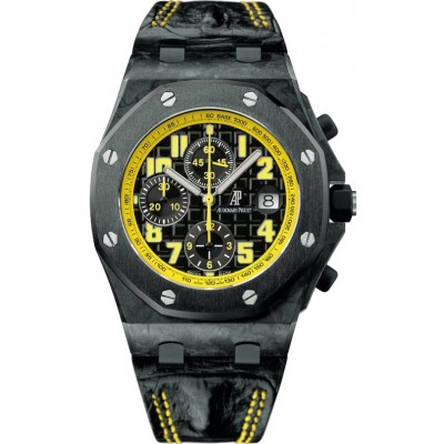 Captain Replica Watch - Audemars Piguet Royal Oak Offshore Bumble Bee Chronograph 26176FO.OO.D101CR.02