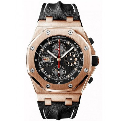 Captain Replica Watch - Audemars Piguet Royal Oak Offshore Perpetual Calendar Pink Gold 26209OR.OO.D101CR.01